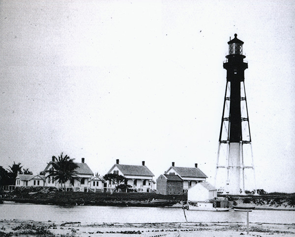 view of lighthouse grounds